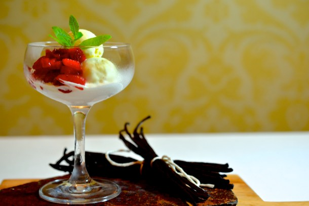 The Umstead Hotel and Spa - Three Vanilla Ice Cream