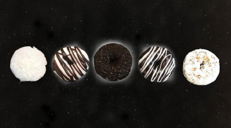 Duck Donuts Just Released A Solar Eclipse-Inspired Doughnut Assortment