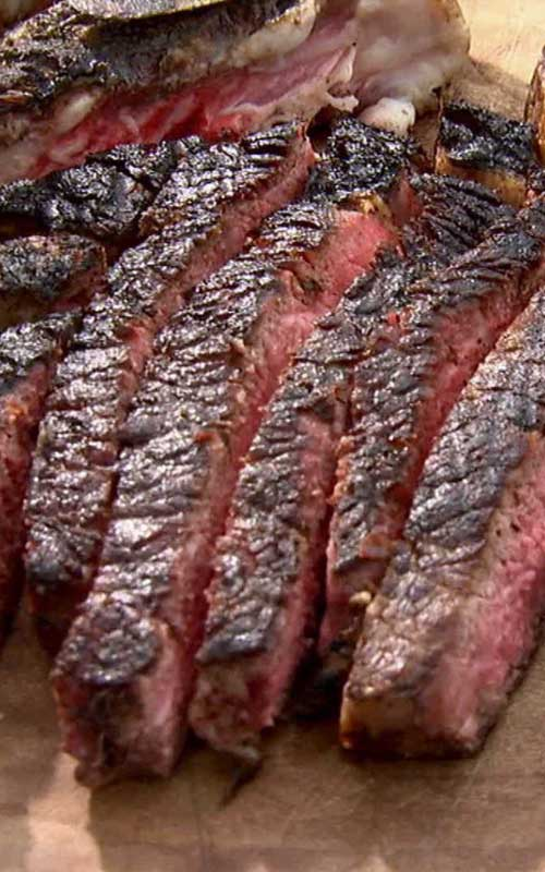 Barbecue Rib Eye Steak Recipe - A no-muss, no-fuss recipe for the perfect grilled rib eye steak.