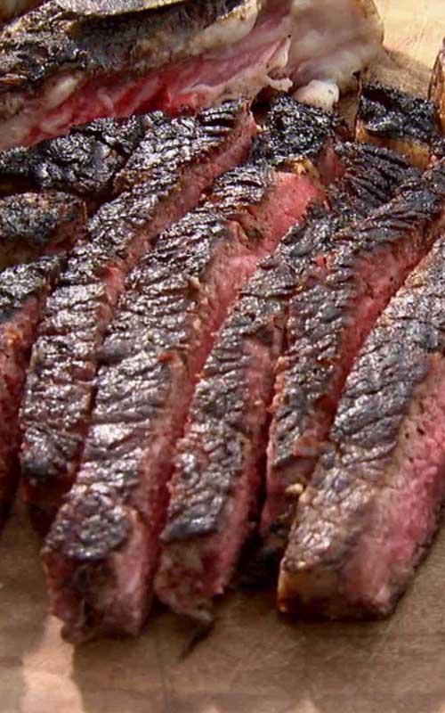 Barbecue Rib Eye Steak