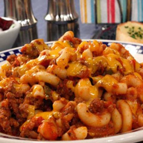 Recipe for All American Skillet Goulash