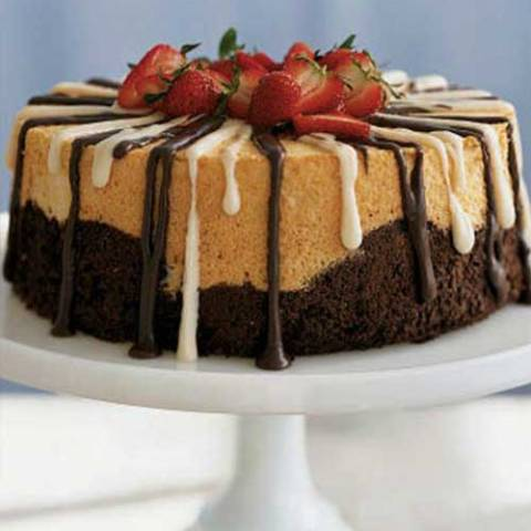 Recipe for Black and White Angel Food Cake