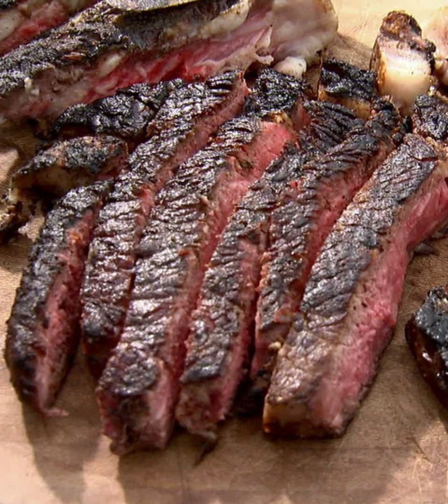 Barbecue Rib Eye Steak
