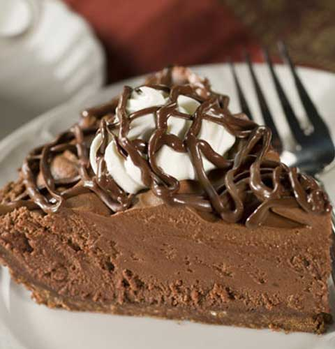 Chocolate Lovers Chocolate Mousse Pie