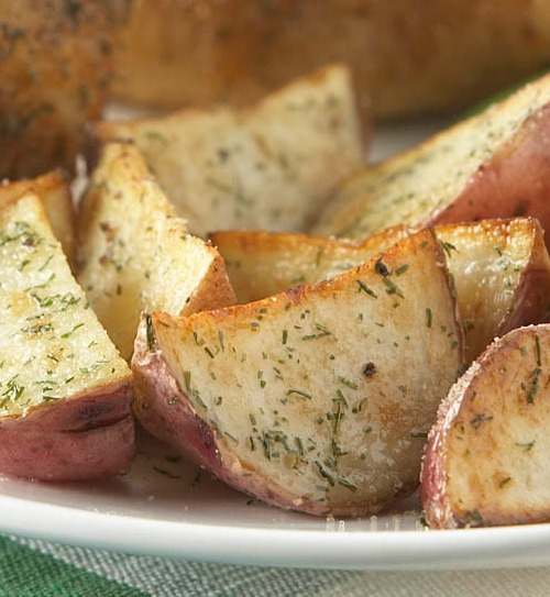 Recipe for Easy Dill Roasted Red Potatoes