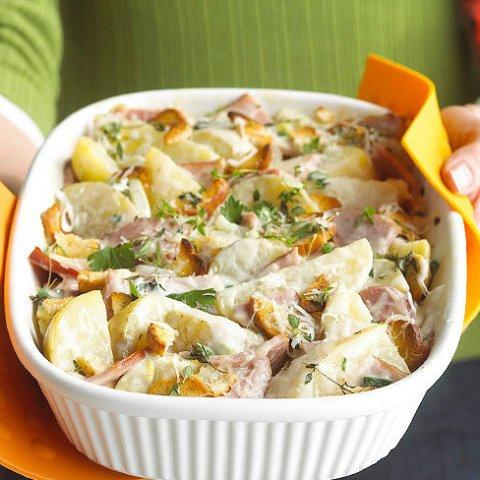 Recipe for Creamy Potato Casserole