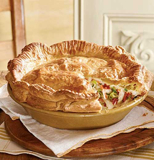 Recipe for Double Crust Chicken Pot Pie