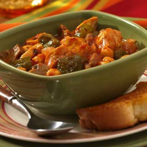 Recipe for Slow Cooker Hunters Stew with Chicken