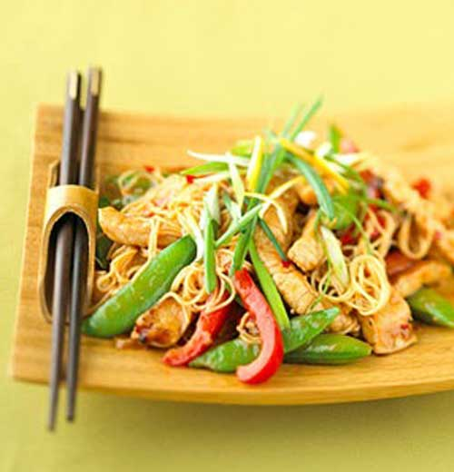 Recipe for Lemon Ginger Pork Stir Fry