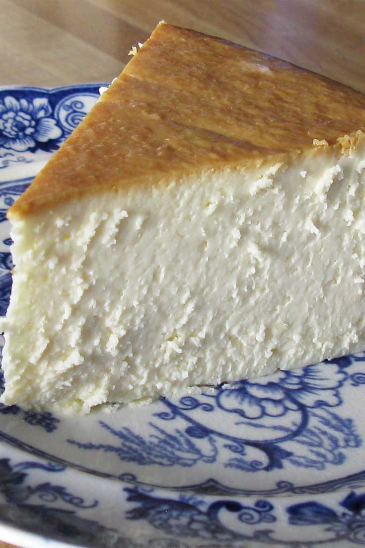 This recipe for New York Cheesecake has become the favorite of family and friends who've had the good fortune to be served this slice of heavenly goodness. #dessert #cheesecake