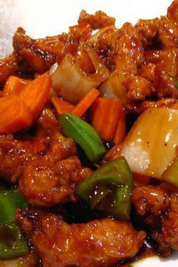 You can make this favorite Slow Cooker Orange Chicken right in your slow cooker. It doesn\'t get any easier than that. Saucy and sweet and sure to be a weeknight winner. #chicken #Chinese #slowcooker #dinnerideas