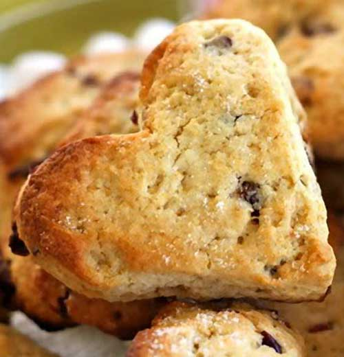 Yogurt Cranberry and Tangerine Scones