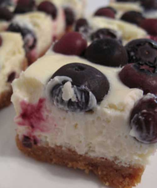 These Lemon Blueberry Cheesecake Bars came out fabulous! I loved them, and they disappeared pretty darn fast. So fast, that I didn't get a chance to photograph them and had to make another batch over the weekend. #blueberry #cheesecake #dessert #dessertbars