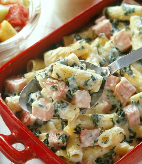 Ham and Rigatoni Casserole
