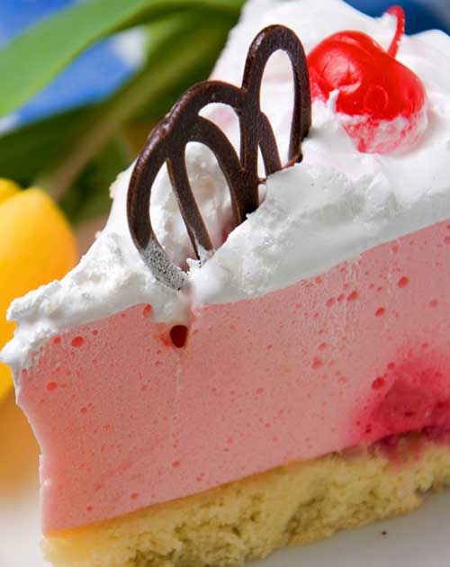 Recipe For Strawberry Cheesecake   A Light And Fluffy No Bake Cheesecake  Recipe, Complete With