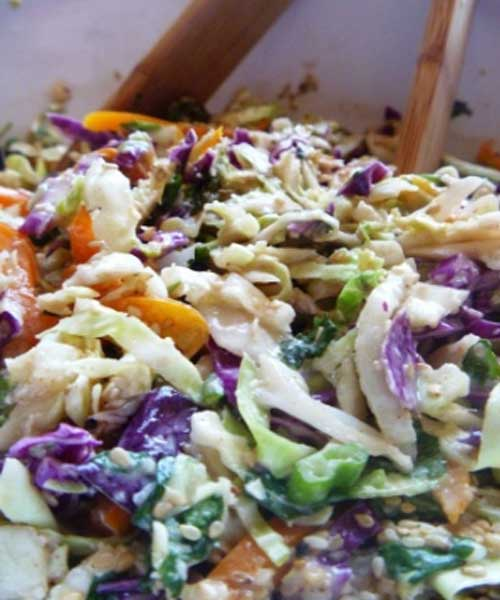 Planning a Hawaiian Luau, the menu has to fit the theme- here's a Hawaiian Coleslaw everyone will shake their hips to!!