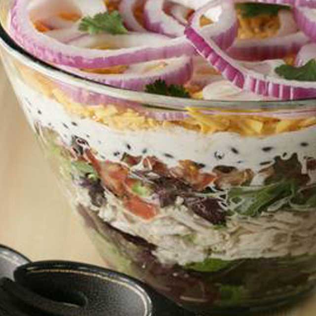 Layered Southwest Salad