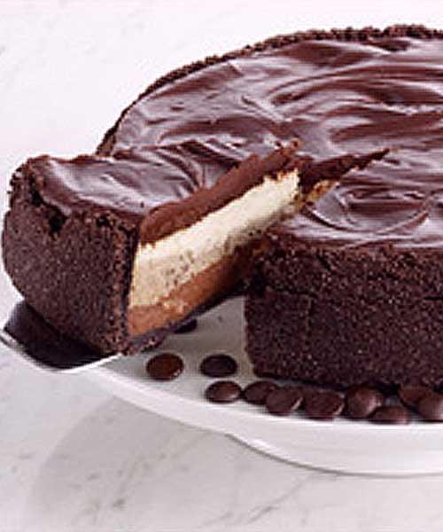 Triple Layer GODIVA Dream Cheesecake