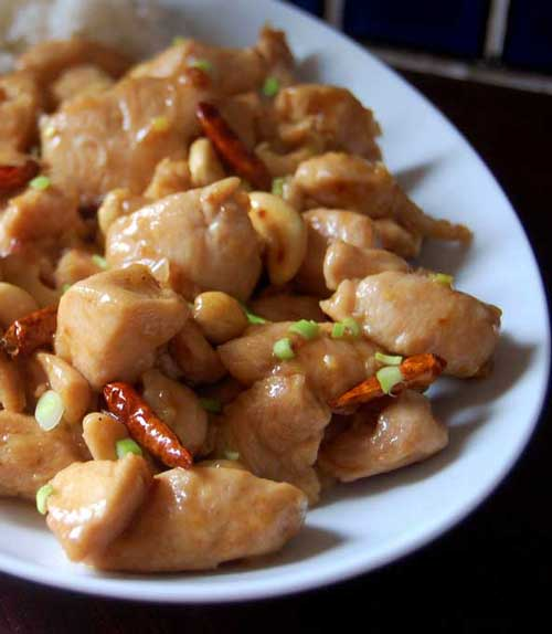 Recipe for Kung Pao Chicken - The best-ever Chinese Kung Pao Chicken, spicy, savory and so good with rice. Easy recipe and BETTER than takeout.