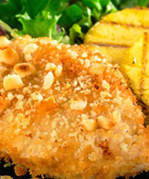 Macadamia Nut Crusted Chicken
