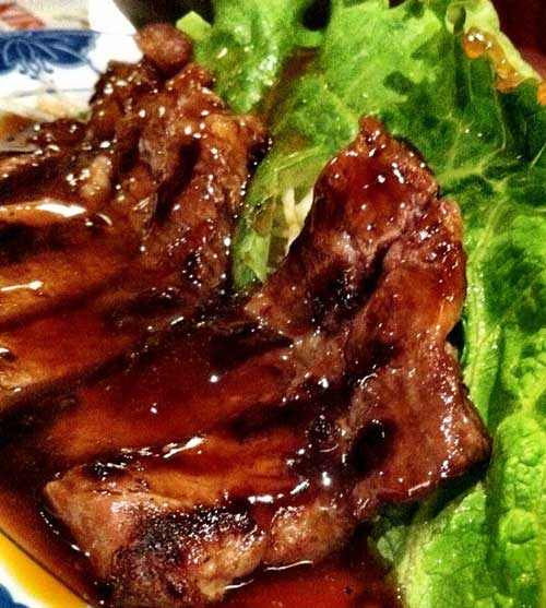 This teriyaki recipe is great as a sauce or a marinade and for just about any type of meat. I was very pleased with how it turned out.