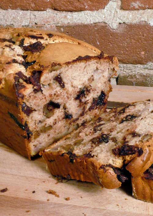 Chunky Monkey Ice Cream Bread