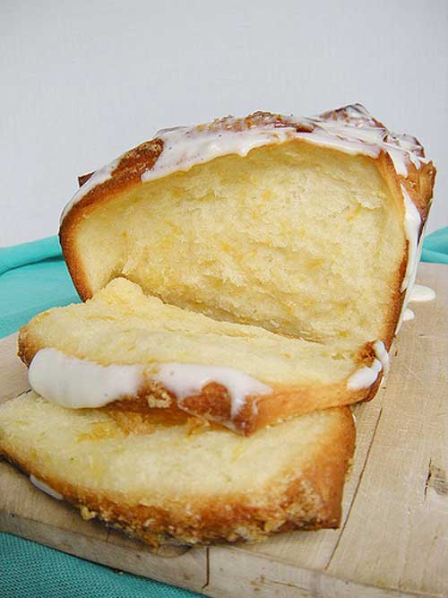 Lemon Scented Pull Apart Coffee Cake