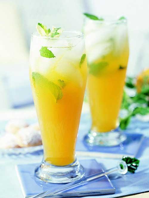 Peach Mint Green Tea