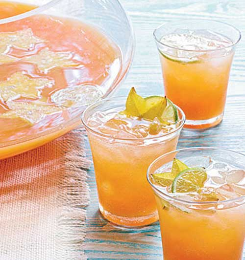 Tropical Champagne Punch