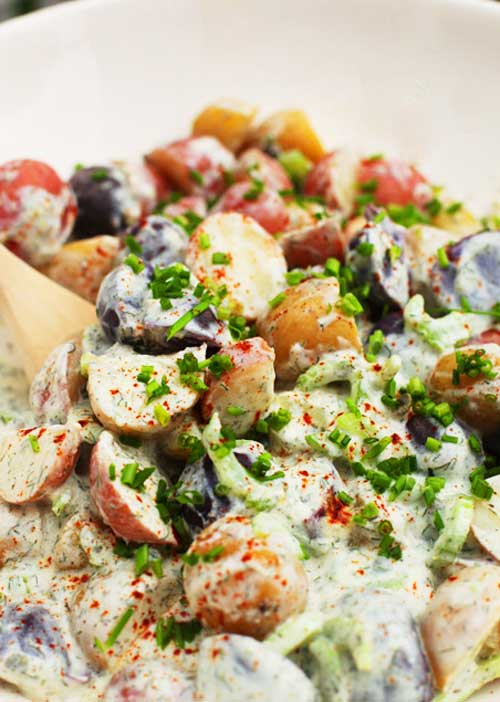 Yogurt Dill Potato Salad