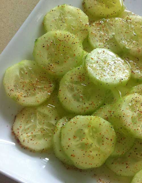 This Cucumber Delite is my new favorite, healthy afternoon snack. It is so easy to make and tastes delicious.