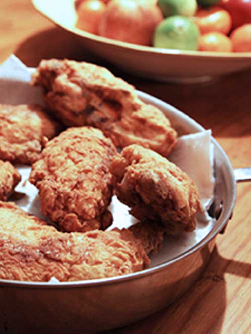 Recipe for Best Ever Buttermilk Fried Chicken - I've made fried chicken using lots of recipes. In recent years, the recipe that gets the most rave reviews is this one here. The secret is in the brine.