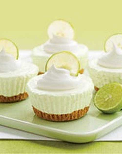 These  simple, No Bake Key Lime Cream Cakes are easy to prepare and impressive to serve!