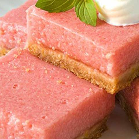 Recipe for Mouth-Watering Watermelon Bars - Watermelon and lemon give you the perfect taste of summer in these refreshing, summery bars.