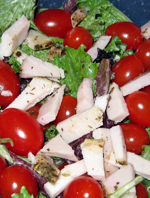 Absolutely delicious! A quick and easy salad thats perfect for BBqs, picnics, or a quick lunch!