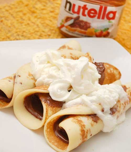 Supreme Nutella Crepes