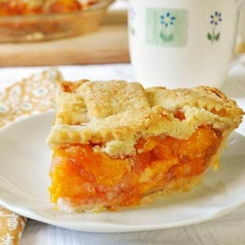 Recipe for Peach Pie - I was so thrilled with how it came out, and even more thrilled at how yummy it was. Who knew peach pie was so good??? Now I'm kicking myself for waiting so long to make it!