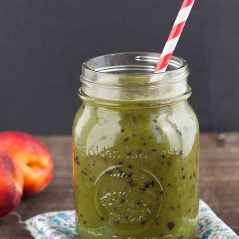 Recipe for Green Monster Smoothie - These smoothies are really, really good. Best of all, they are highly adaptable to whatever you have on hand.