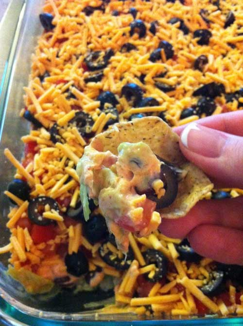 Dr Oz 7-Layer Fat-Fighting Dip