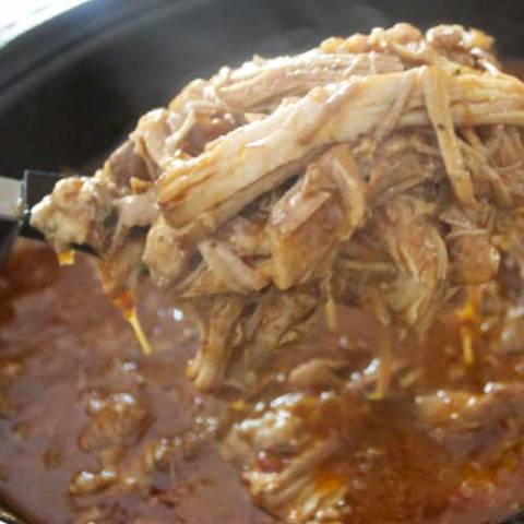 Recipe for Cuban-Style Chipotle Pulled Pork - I am pretty sure this will be your favorite way of preparing pork from now on.