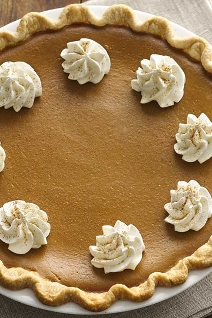 Take the fall coffee favorite, and enjoy it as this Pumpkin Spice Latte Pie! It does not get much better than that during this time of year. #pumpkin #pumpkinspice #psl #pie #dessert #fallbaking