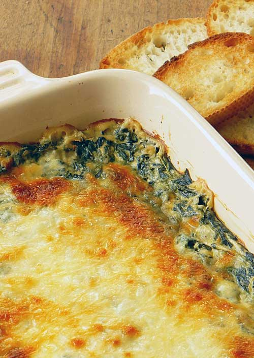 This Hot Spinach Dip recipe is awesome as a dip and would be just as delicious as a side. The other great thing is how easy it is to make it your own.
