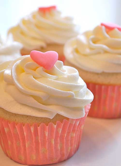 Do you know those times when you want to make a few cupcakes, and NOT 2 dozen? This recipe is PERFECT for those moments!