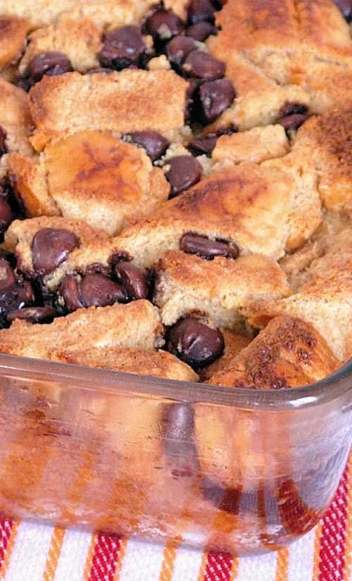 Chocolate Chip French Toast Casserole