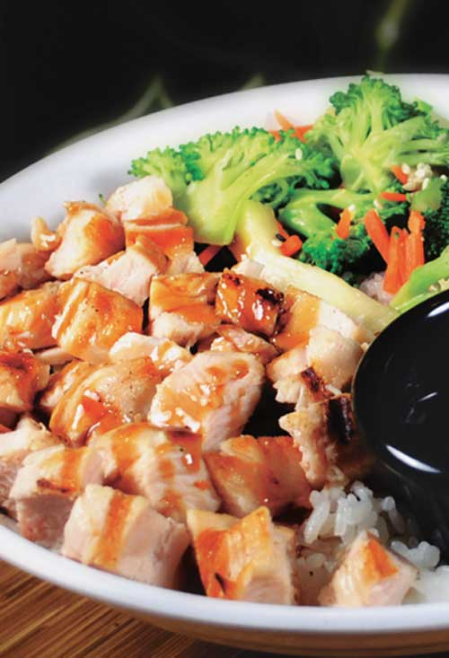 Recipe for Hawaiian Chicken Rice Bowls - This chicken recipe reminds me of my last trip to Hawaii. When my family started making the yummy noises, I knew I had a winner.