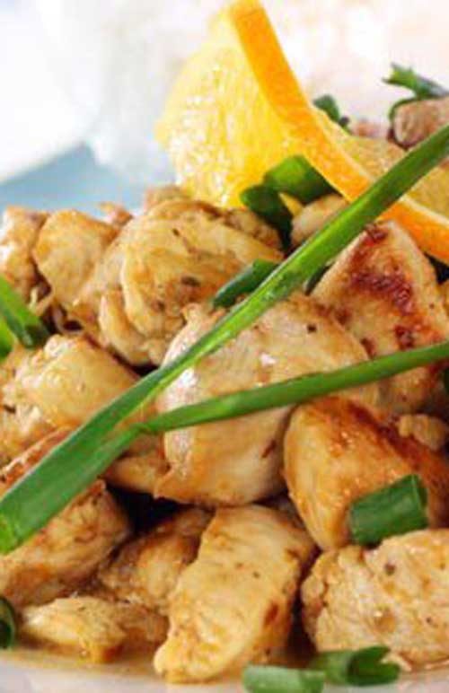 Citrus chicken is a great go-to recipe to some zest to ordinary chicken.