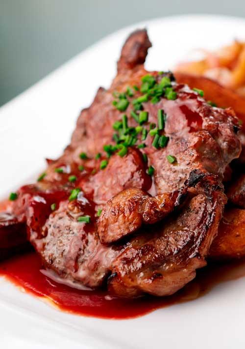 Oven Baked Cajun Pork Steaks Recipe - Flavorite