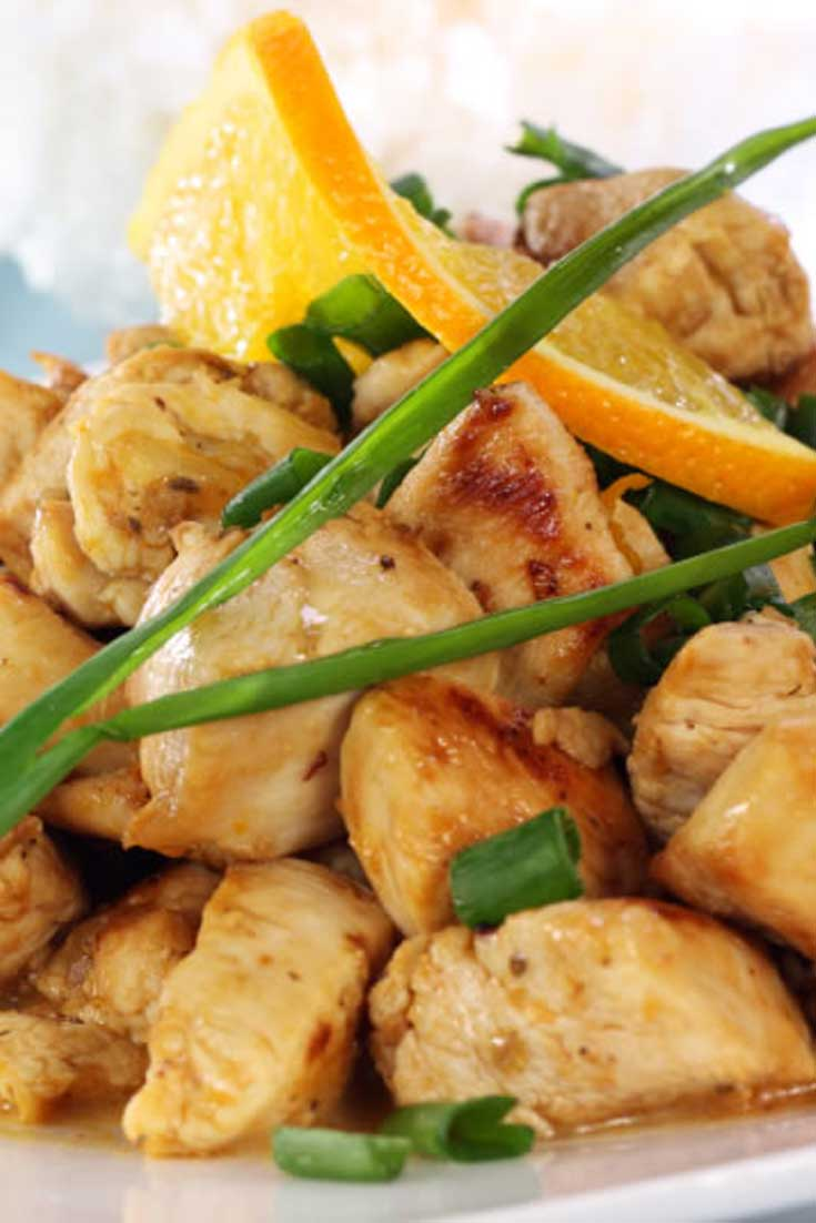 Citrus chicken is a great go-to recipe to some zest to ordinary chicken. #chicken #dinnerideas