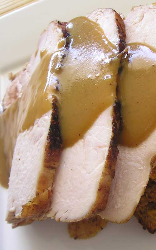 Have you ever cooked a whole turkey breast in the crockpot? I did, for the first time, this weekend, and I can tell you I will be doing it again and again.