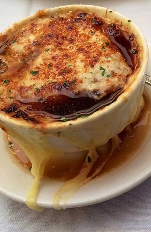 Famous Barr French Onion Soup